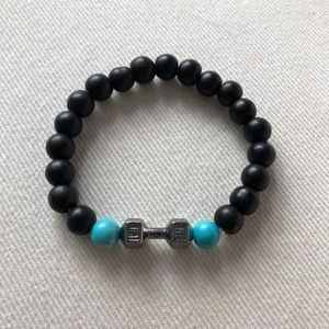 Jewelry - 🆕 Live Lift Barbell Bead Bracelet